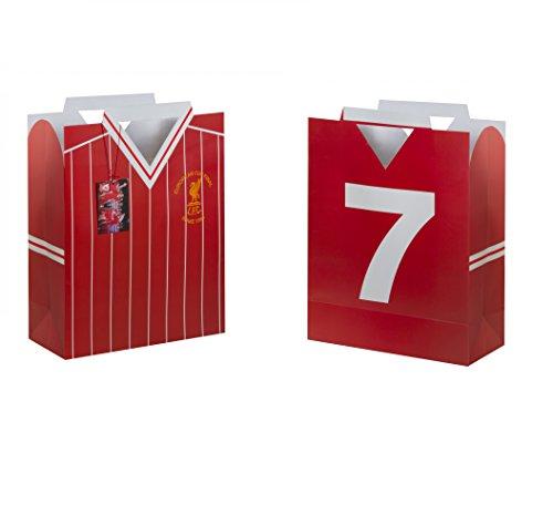 FC Liverpool Retro Shirt Bag Geschenktasche Gift Bag Red