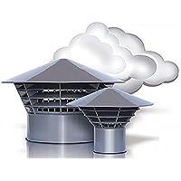Ventilación de la capilla de - salida de aire - techo de salida de vapor original 'sistemas de apertura de' DN 160/150 para 150mm-tubo