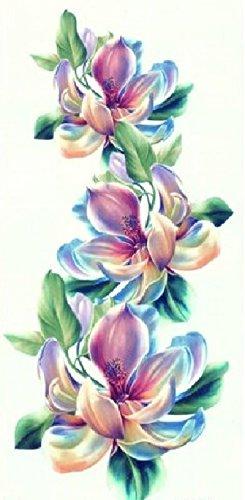 Spestyle wasserfest und ungiftig heißer Verkauf modischen und bunten Blumen realistische Tattoo-Aufkleber für Frauen