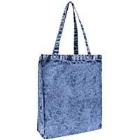 Blue Jeans, Marble Design Cotton Tote Shopping Bag