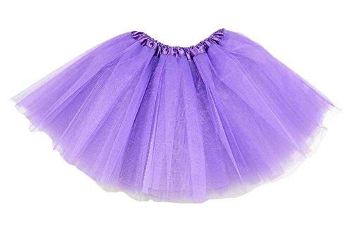 niceeshop(TM) Mädchen Modern Ballett Verkleiden Fee Tutu Rock, Hell Lila (Lila Fee Ballett Kostüm)