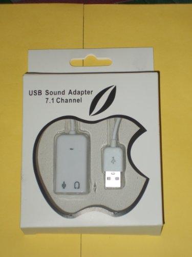 TerabyteTB-026 USB Sound Adapter (White)