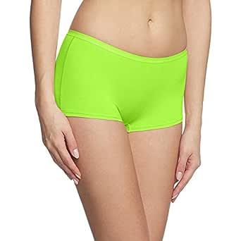 Fashion Line NEON Green Women's Boy Short Panty