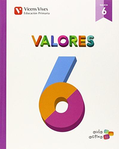 Valores 6 Galicia (aula Activa) - 9788468229362