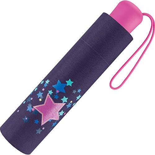 Scout Kinder Regenschirm Taschenschirm Schultaschenschirm mit großen...