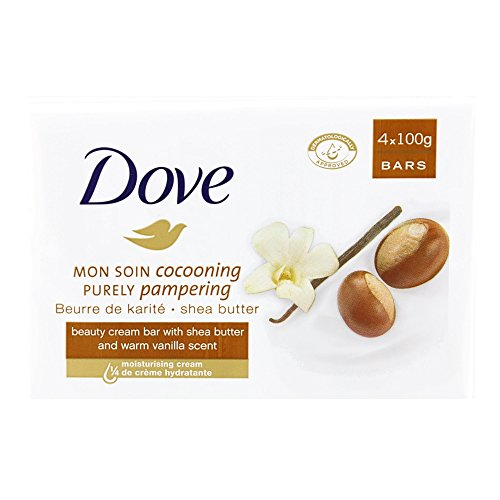 SOAP DOVE SHEA BUTTER 4 X100G - 4 X 100G -