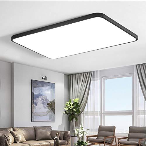 Luce moderna minimalista ultra-sottile plafoniera quadrata bianco e nero camera da letto soggiorno lampada illuminazione creativa luce bianca 60x60cm72w