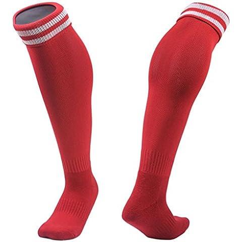 Clode® 1pair medias fútbol calcetines de los niños al aire libre 3-8 años fútbol calcetines