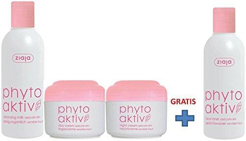 Ziaja Phytoaktiv Gesichtspflege Set für sensible Haut mit GRATISPRODUKT