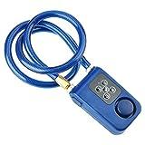 Topiky Smart Chain Lock, Keyless Anti-Theft Waterproof Alarm Lock Combinación de...