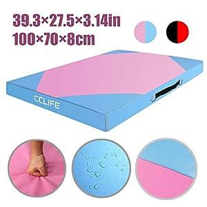 CCLIFE 100x70x8cm Weichbodenmatte Balance Pad Balancekissen für Koordination...