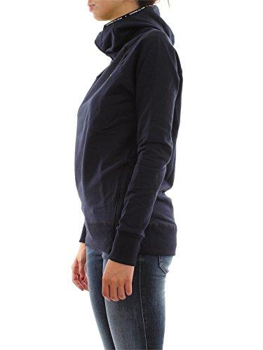 CONVERSE 6FD518 LOGO NEON SWEAT-SHIRT Femme blue