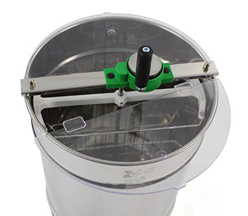 Stainless steel Honey Extractor (Manual 4 frame) from Easipet (00127A) 4