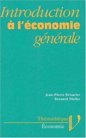 Introduction à l'économie générale