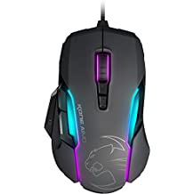 Roccat Kone AIMO RGBA Smart Customisation Gaming Mouse - Grey