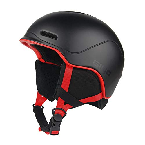 Rstant Ski Helm Outdoor Sports Schutzhelm, Winter warme Snowboardhelme, Männer Frauen Light Crash Snow Helme Integral geformte Skate Helm