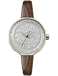 Vivienne Westwood Womens Analogue Classic Quartz Watch with Leather Strap VV171GDBR