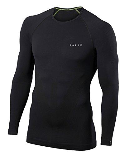 FALKE Herren Unterwäsche Warm Longsleeve Shirt Tight black, L