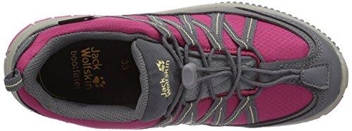Jack Wolfskin KIDS HIDEAWAY TEXAPORE Unisex-Kinder Trekking- & Wanderhalbschuhe Pink (azalea red 2081)