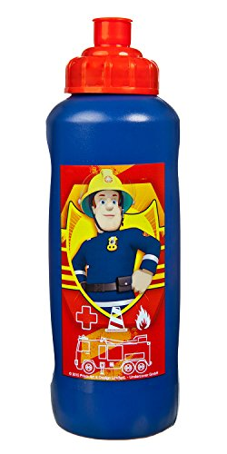 - Sportflasche Feuerwehrmann Sam, 450 ml, rot (Feuerwehrmann Rot)