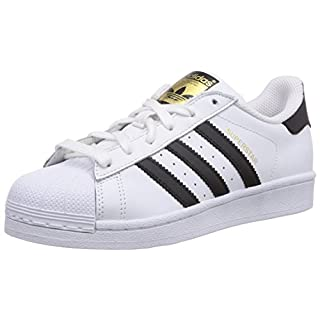 adidas Unisex Adult Superstar Low-Top Sneakers, White (Ftwr White/Core Black/Ftwr White), 5 UK (38 EU)
