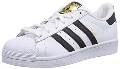 scarpe dell'adidas bianche e nere