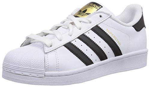 Adidas-Superstar-Scarpe-da-Basket-Unisex-Adulto-Bianco-Ftwr-WhiteCore-BlackFtwr-White-36-23