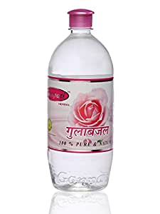 Ganpati Herbal Chemical-Free Natural Rose Water (1000 Ml)