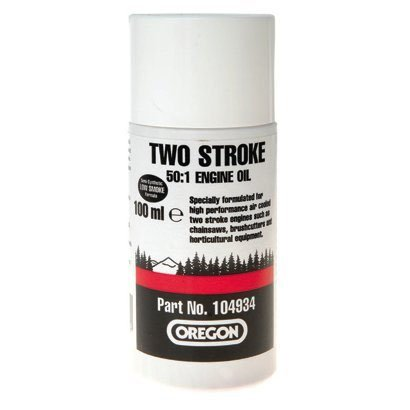 Schnapsgläser OREGON 104934 2-Stroke eine (50:1) Teilsynthetisches Motoröl CHAINSAW - 100 ml