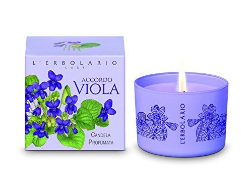 L'Erbolario Accordo Viola Duftkerze, 1er Pack (1 x 1 Stück)