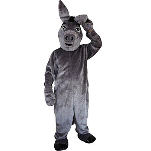 Esel Maskottchen Kostüm - Langteng Esel, für Kostüm,-15-20days -