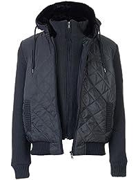 Firetrap Mens Sartorial Knit Coat Jacket Hooded Drawstring