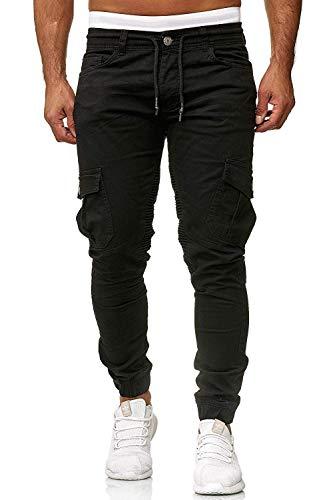 Herren Hosen Cargo Chino Jeans S...
