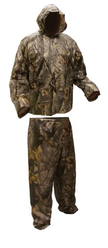 Coleman Herren Bekleidung Camo 10 mm PVC Regenanzug Advantage Realtree Ap, Herren, Advantage Realtree AP, Medium