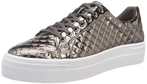 Tamaris Damen 23720-21 Sneaker, Silber (Silver Struc. 979), 38 EU