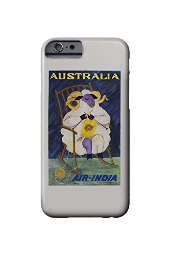 air-india-australia-vintage-poster-c-1968-iphone-6-cell-phone-case-slim-barely-there