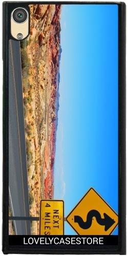 Hülle für Sony Xperia XA1 Ultra - Straße USA USA Drehen Vereinigte Staaten Wüste Arid Sun Sky Blue