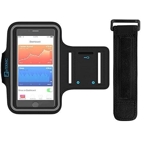 eTEKNIC iPhone fascia da braccio, Sport Armband per iPhone Supporto