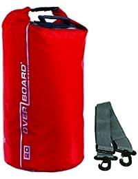 Overboard OB1001R Wasserdichter Packsack 5 Liter Rot,