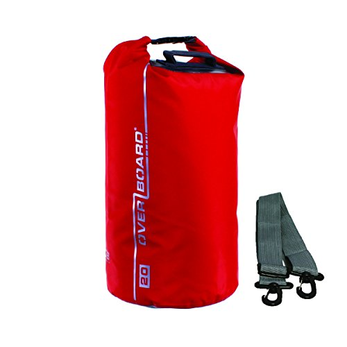 OverBoard - Bolsa de playa impermeable capacidad 40 l color rojo
