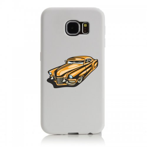 Smartphone Case Hot Rod Sport carrello auto d epoca Young Timer shellby Cobra GT muscel Car America Motiv 9768per Apple Iphone 4/4S, 5/5S, 5C, 6/6S, 7& Samsung Galaxy S4, S5, S6, S