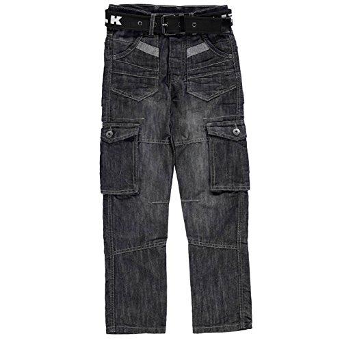 airwalk-ninos-oscuro-wash-vaquero-junior-chicos-denim-pantalones-casual-ropa-abajo-azul-large