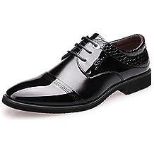 CHENSH Zapatos De Hombre Zapatos De Boda Traje De Negocios Británico Zapatos Puntiagudos De Punta Estrecha