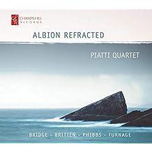Piatti Quartet: Albion Refra [Nathaniel Anderson-Frank; Michael Trainor; Tetsuumi Nagata; Jessie Ann Richardson] [Champs Hill Records: CHRCD145]
