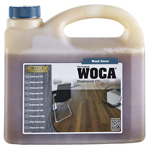 WOCA Diamondöl 2,5 L, 1 Stück, weiß,523025AA
