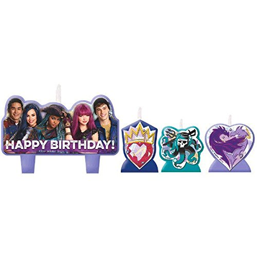 Disney Descendants 2 Birthday Candle Set