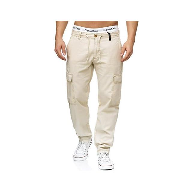 Indicode Homme Vintage Pantalon Cargo Chino Ranger 5851 Levi Cargo · Indicode  Homme Pantalons Casual Lin Pantalon Cargo en Tissu Confortable Leonardo ... f35fb4493de