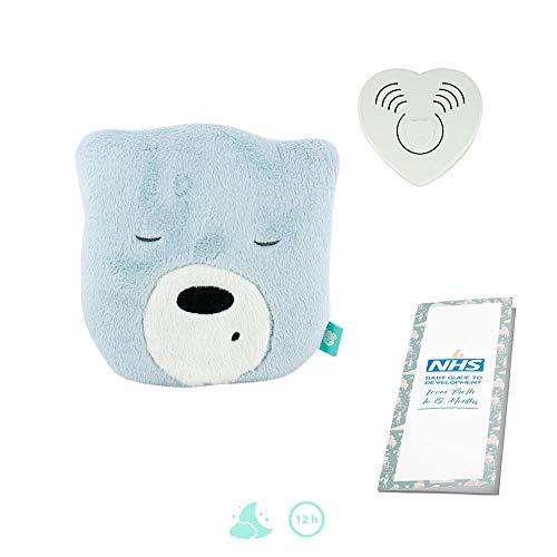 Szumisie Mini-Kopf-Spielzeug, mit Basis-Sound, geeignet ab der Geburt, 60 Minuten, verblasst Nicht, inkl. Bedienungsanleitung (in englischer Sprache)