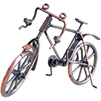Fantasyworld Antiguo Modelo de Moto Arte del Metal la decoración del hogar de Bicicletas Figurita miniaturas