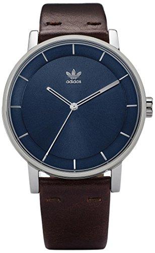 Adidas Damen Analog Quarz Uhr mit Leder Armband Z08-2920-00